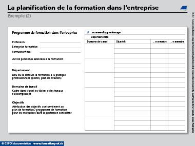 Csfo Documentaion Formation Professionnelle C Csfo Berne 2017